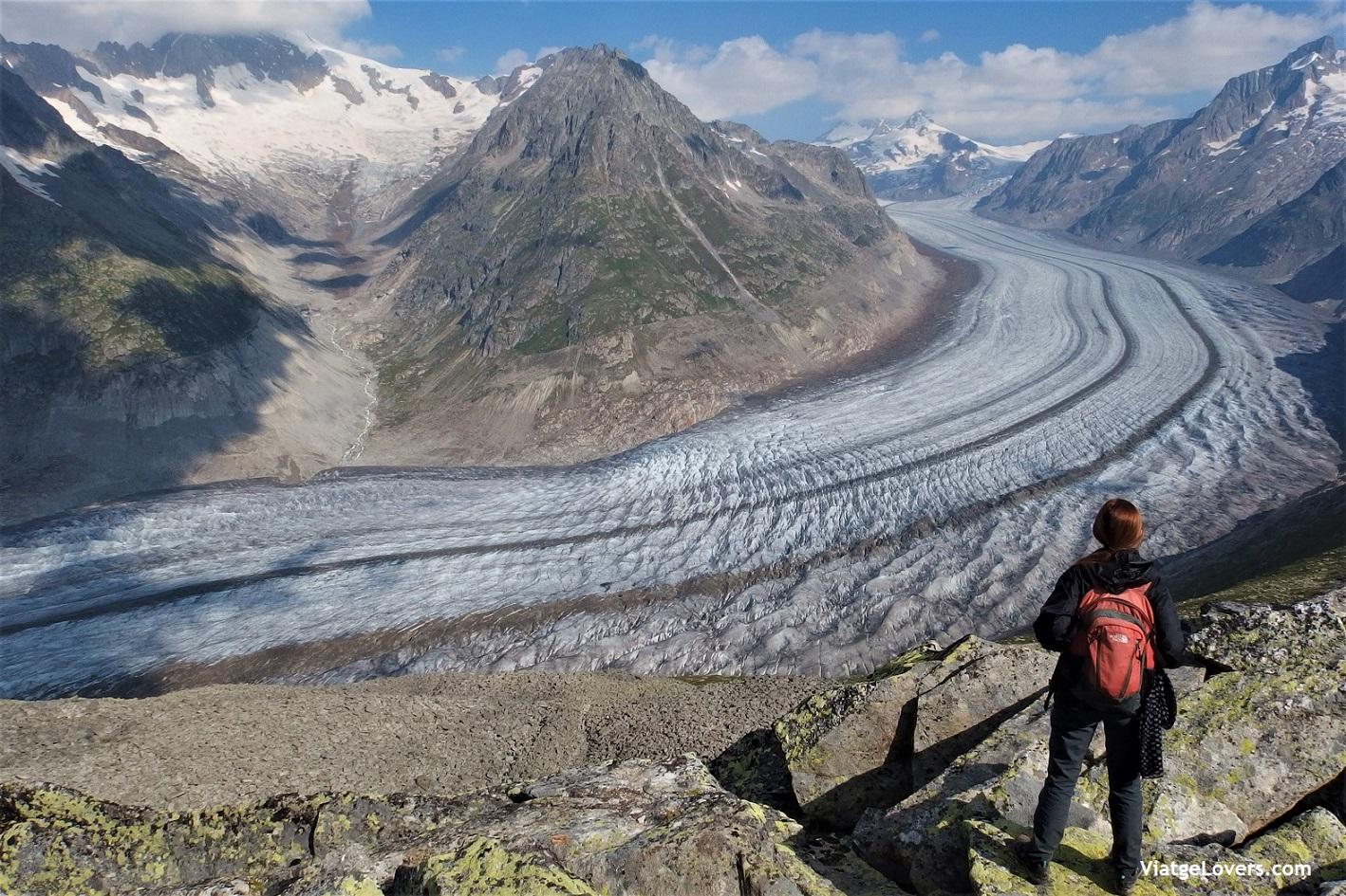 Glaciar Aletsch. Roadtrip por Suiza -ViatgeLovers.com