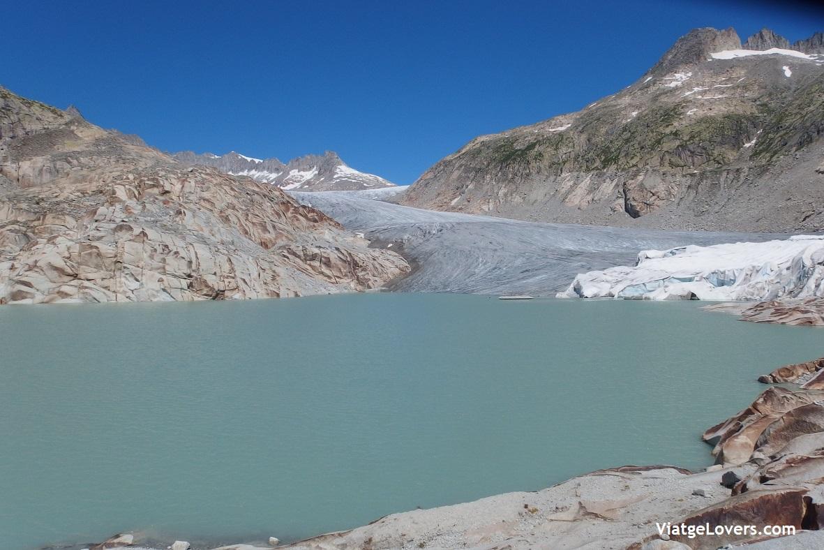 Glaciar Ródano. Suiza -ViatgeLovers.com