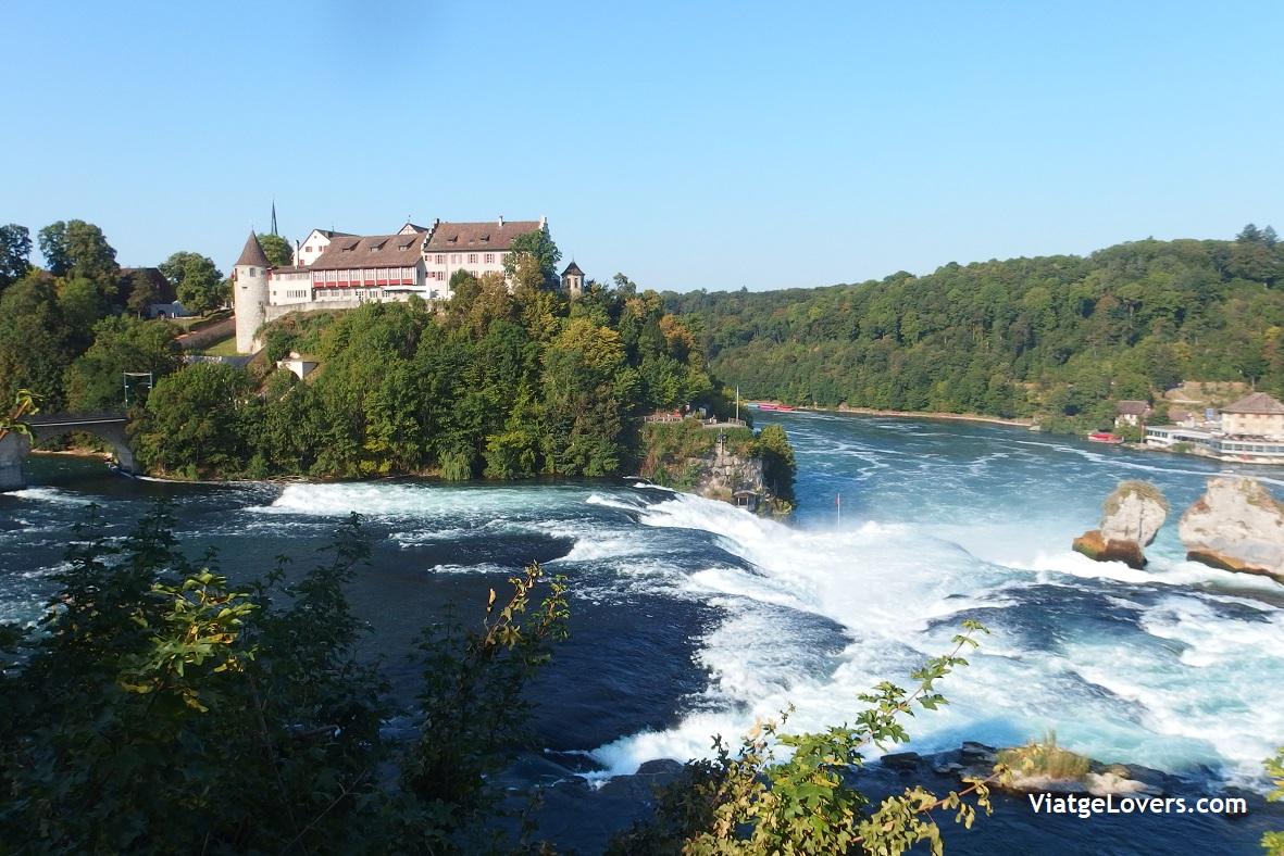 Cascadas del Rin. Suiza -ViatgeLovers.com