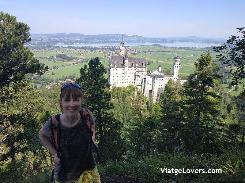 Castillo de Neuschwanstein. Alemania -ViatgeLovers.com