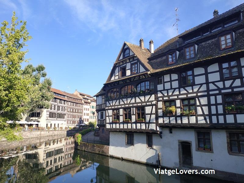 Petit France. Estrasburgo -ViatgeLovers.com