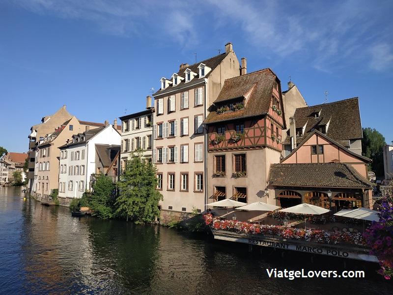 Los canales de la Petit France. Estrasburgo -ViatgeLovers.com